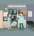 clinical tests lab composition vector image