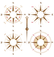 compass frames vector image vector image