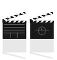 film damper vector image