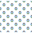 man with glasses avatar pattern vector image vector image