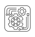 tools icon in outline style for web or app design vector image