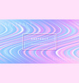 abstract colorful wave flow background vector image vector image