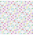 Abstract geometric colorful seamless pattern for vector image vector image