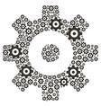 Cogs - Gears vector image vector image