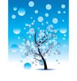 Decorative Winter Tree vector image vector image