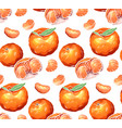 seamless pattern of color cartoon of vector image vector image
