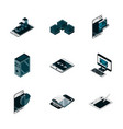 technology device gadget digital isometric vector image