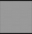 graphic seamless pattern made of black honeycomb vector image
