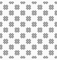 abstract ethnic geometric pattern vector image vector image