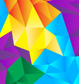 Abstract geometrical vector image