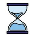 hourglass icon image vector image
