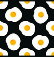 pattern with egg vector image vector image