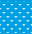 photos pattern seamless blue vector image vector image