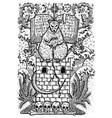 rat symbol vector image