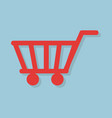 shopping icon concept vector image