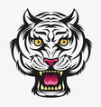 tiger head modification vector image