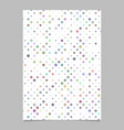 abstract dot pattern flyer template background vector image vector image