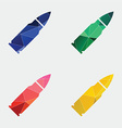 bullet icon Abstract Triangle vector image