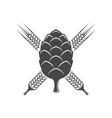 cereals logotype vector image