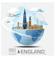 England Landmark Global Travel And Journey vector image vector image