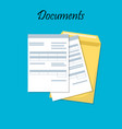 for business documents vector image