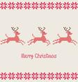 merry christmas pixels vector image vector image