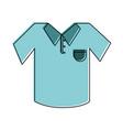 polo shirt icon image vector image