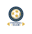 Soccer Football Badge circle vector image vector image