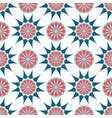 arabic ornament geometric floral pattern textile vector image vector image