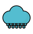 cloud and weather design vector image