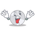 crazy cd mascot cartoon style vector image vector image