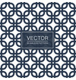 seamless geometric pattern - blue and white vector image vector image