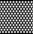 creative round seamless pattern vector image