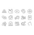 apple like and time management icons set swipe vector image vector image