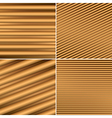 bright brown backgrounds with parallel lines vector image