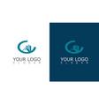 buiding cityscape logo vector image vector image