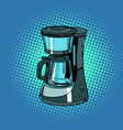 coffee machine kitchenware vector image