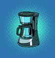 coffee machine kitchenware vector image