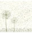 dandelion seed vector image vector image