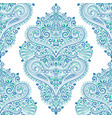 eastern blue and green vintage seamless pattern vector image vector image