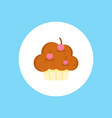 muffin icon sign symbol vector image vector image