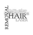 what the cost of laser hair removal can mean for vector image vector image