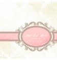 Antique wedding banner
