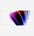 blurred fluid colors background abstract waves vector image