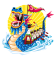 Duanwu Dragon Boat Festival vector image vector image