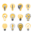 Light bulb idea vector image vector image