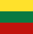 lithuania vector image vector image