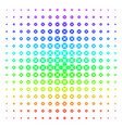 searchlight icon halftone spectrum grid vector image