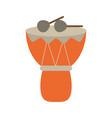 drum musical instrument vector image