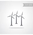 Alternative energy Wind Turbine vector image